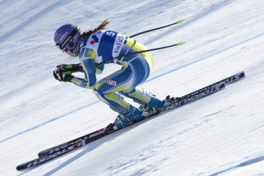 FRA: Alpine skiing Val D'Isere Women DH trg2