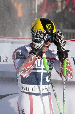 FRA: Alpine skiing Val D'Isere men's GS. HIRSCHER Marcel.