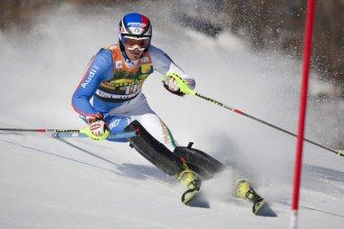 FRA: Alpine skiing Val D'Isere men's slalom. MOELGG Manfred.