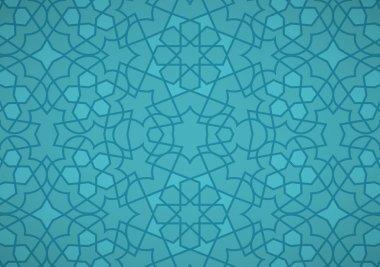 Turquoise Ottoman Pattern