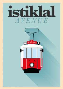 Istiklal Avenue Poster