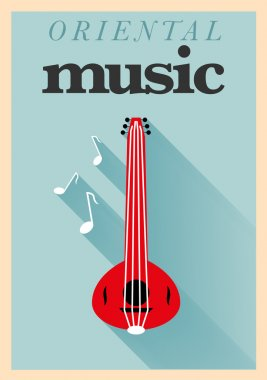 Oriental Music Poster