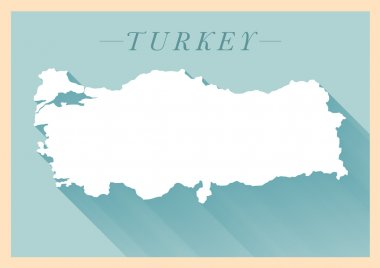 Republic of Turkey Map Design