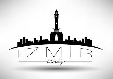 Modern Izmir City Skyline