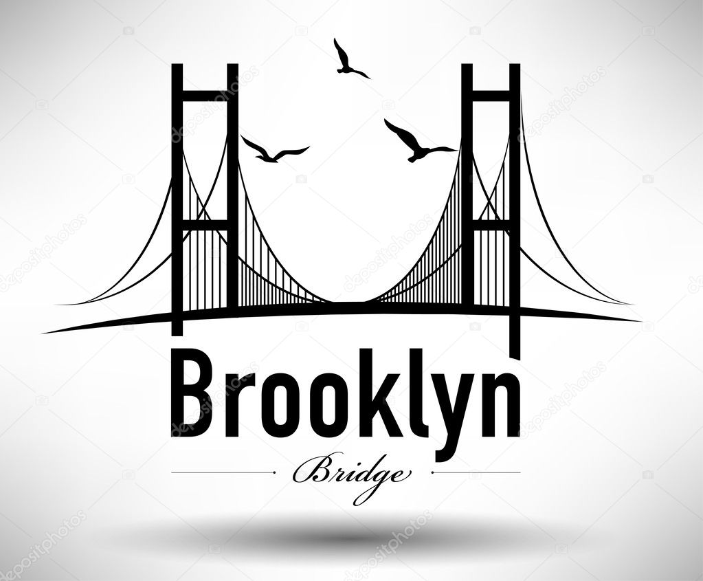 Bridges Of New York City Graphic Design