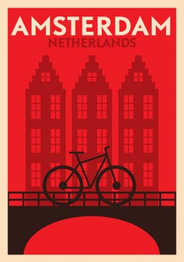 Amsterdam City Poster Design