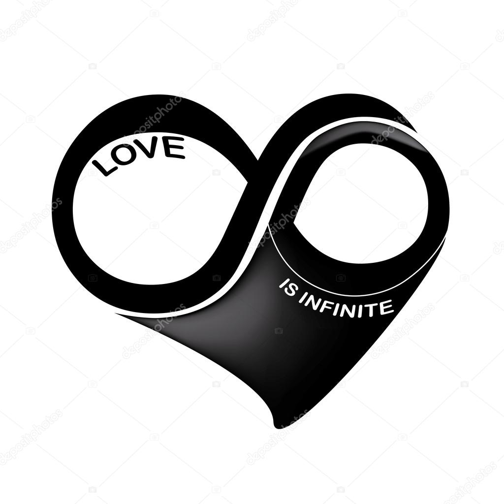 Infinity symbol love stock vectors royalty free infinity symbol love is infinite stock vector biocorpaavc Images