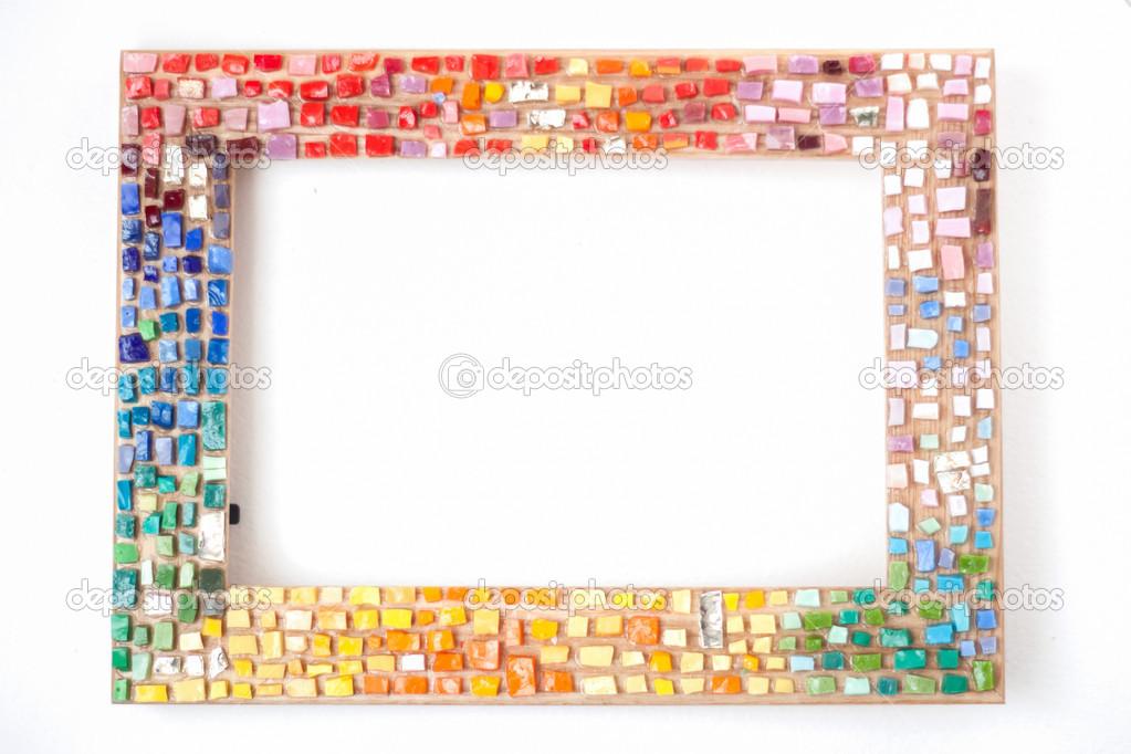 handgefertigten Mosaik-Rahmen — Stockfoto © Apelavi #39934343