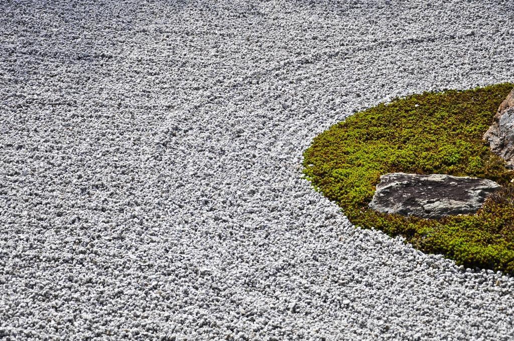 Jardin De Pierre Au Temple Ryoanji A Kyoto Au Japon Photographie