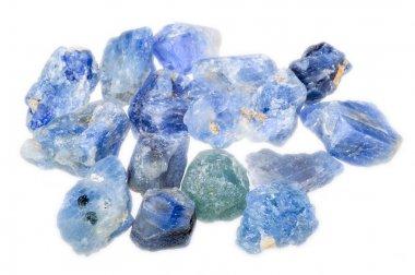 Blue rough natural sapphire