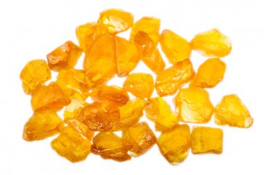 Yellow rough natural sapphire