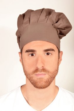 Cook with a chef's hat