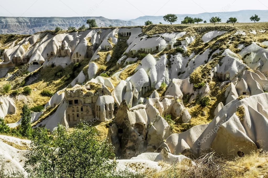 The Valley of the pigeons in Cappadocia, Turkey