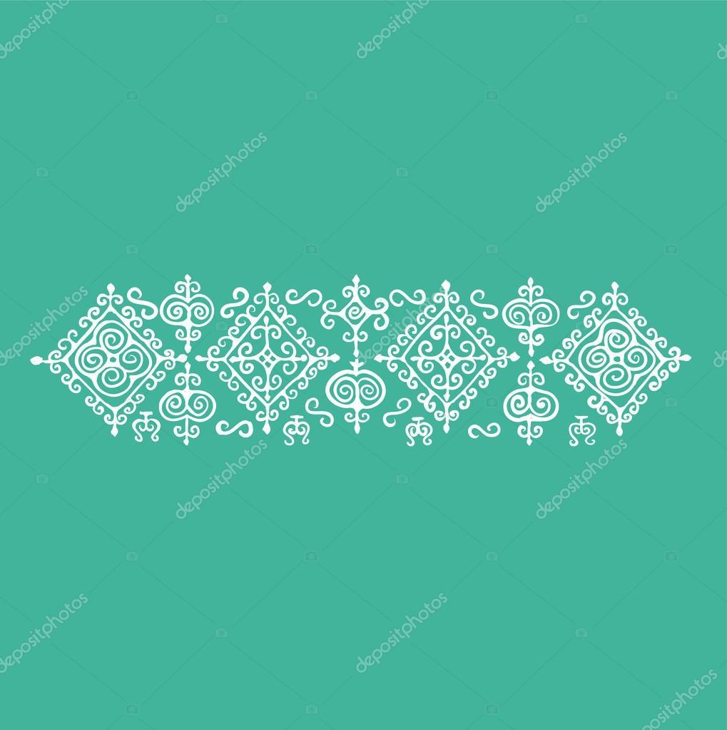 Circassian pattern