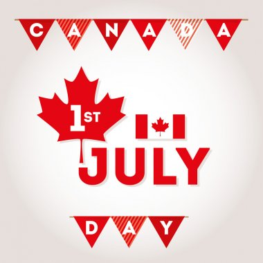 Canada Day first of July.