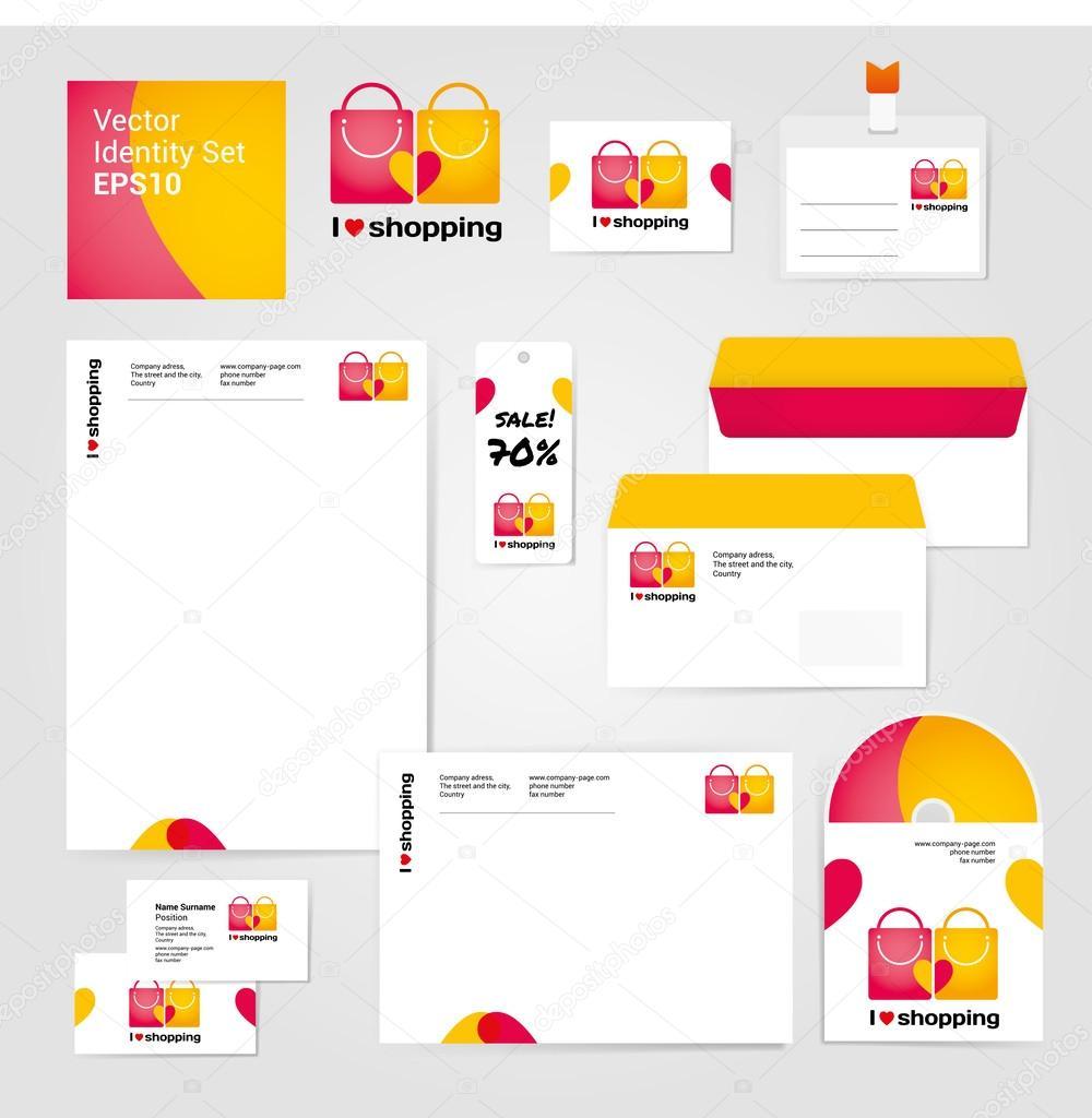 plantilla de diseño sobre compra y venta — Vector de stock © Olyzel ...