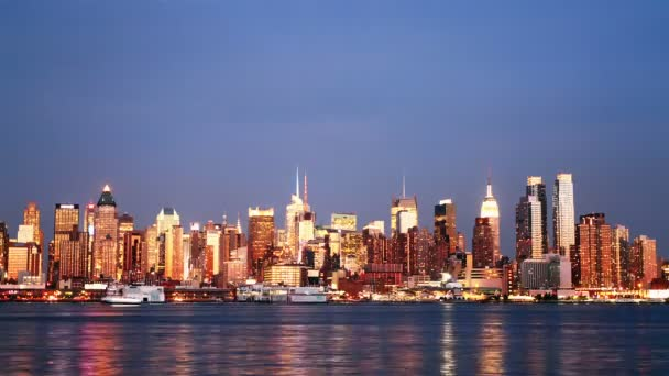 Beautiful view of Manhattan skyline