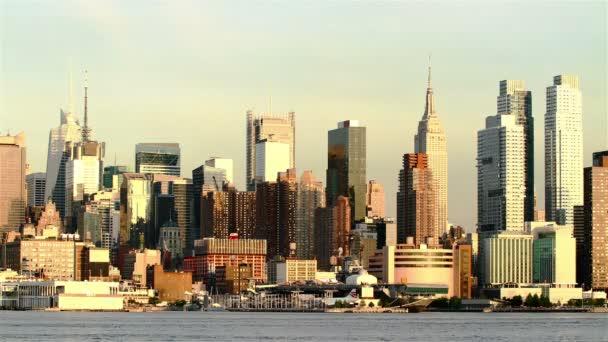 Kilátás Manhattan városára New Jersey-ből