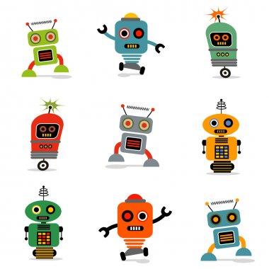 Cute little robots