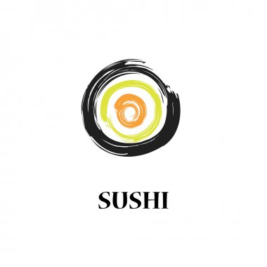 Sushi vecor background
