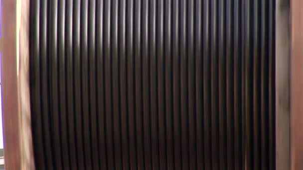 Kabel-Spule — Stockvideo © w-chris #39002283