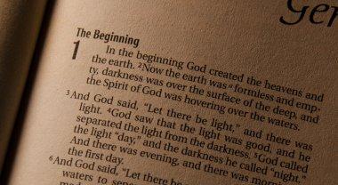 Holy Bible Gensis 1:1