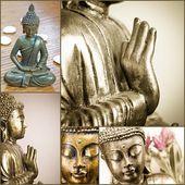 Buddha koláž