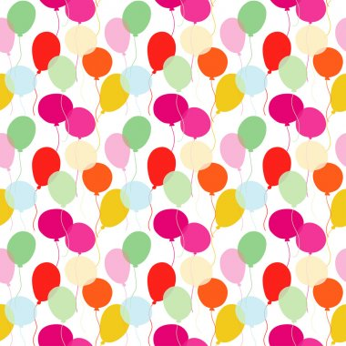 Colorful balloons - vector
