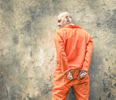 Handcuffed Prisoners waiting for Death Penalty