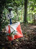 orientační zařízení v lese