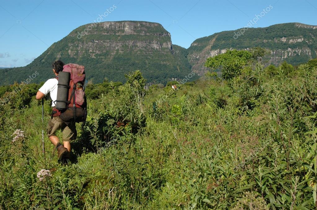 Trekking in Serra Geral National Park, Brazil
