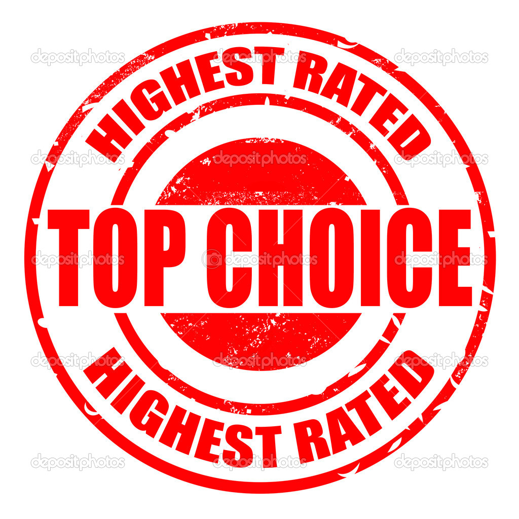 Top choice highest rated stamp — Stock Vector © lauraluchi ...