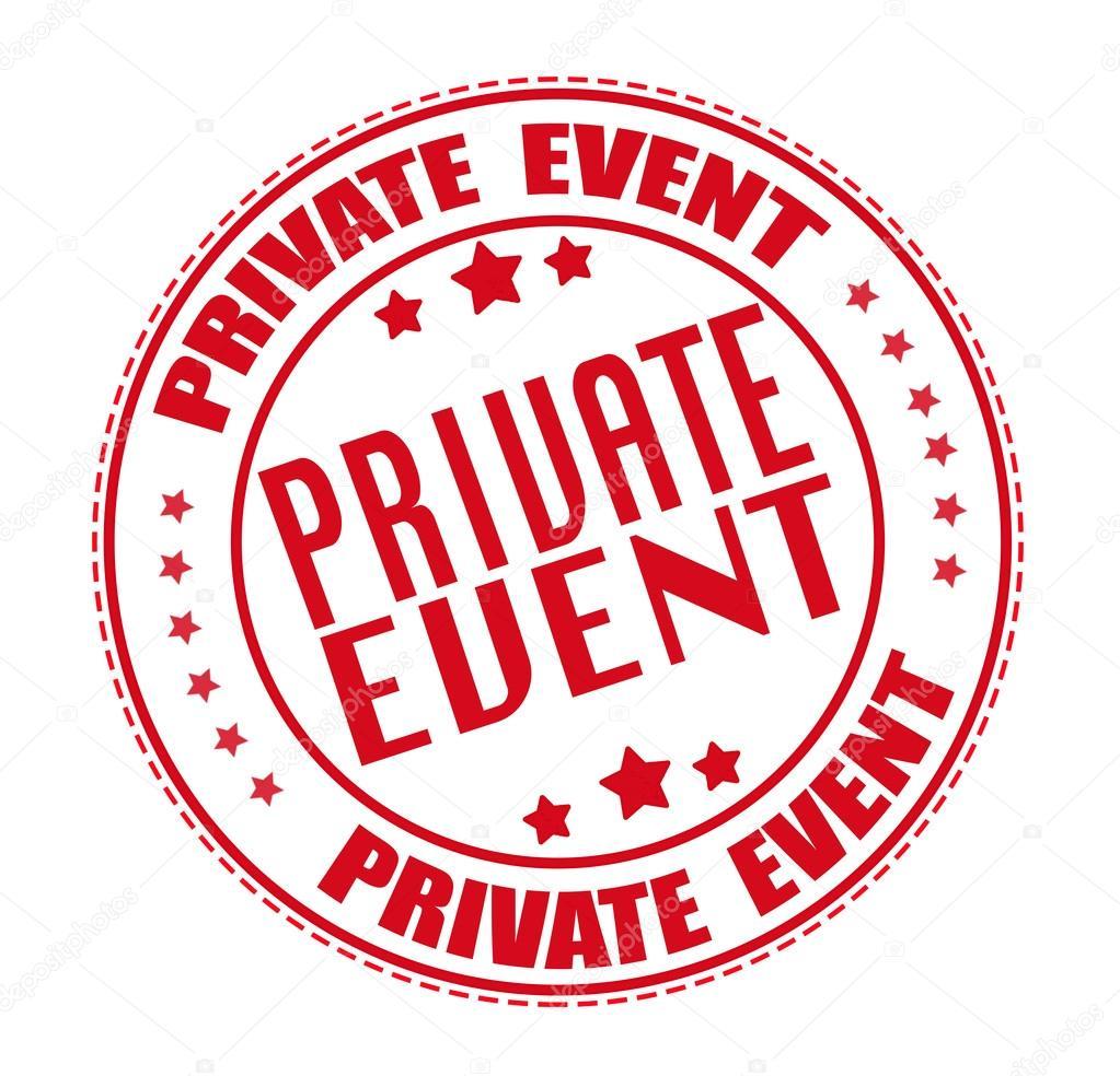 private event stamp