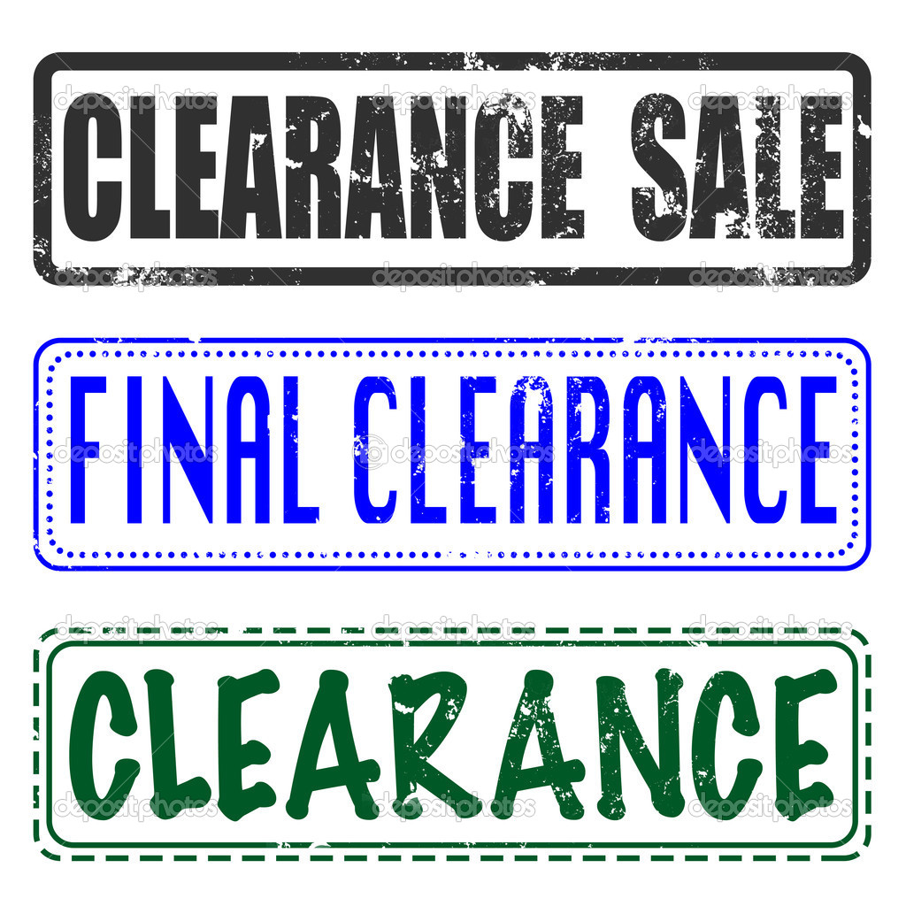 Final Sale Clearance Stamp Stock Vector