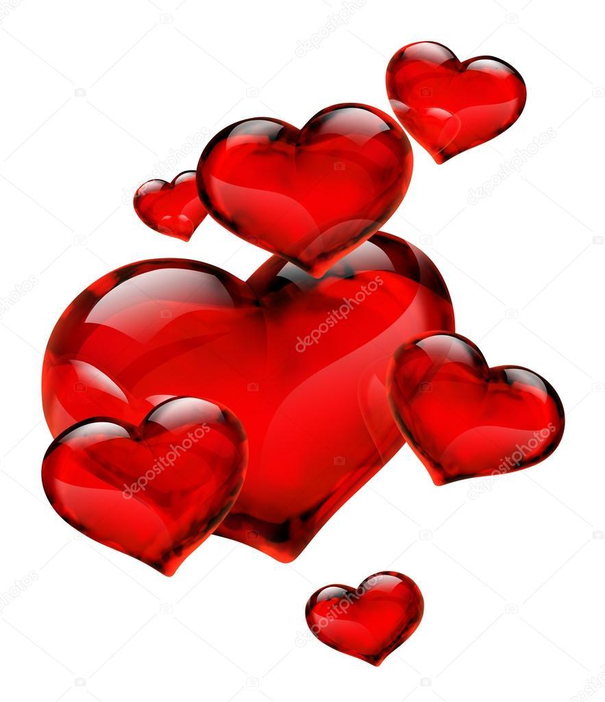 Cuori rossi foto stock rfphoto 29973397 for Immagini di cuori rossi