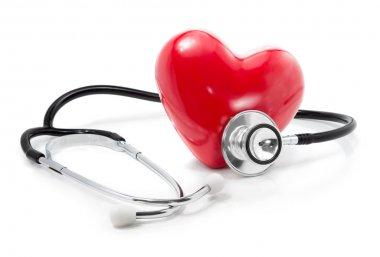 Listen to your heart: health care concept stock vector
