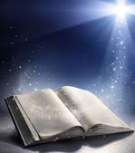 Otevřete Bibli s větrem Boží slovo
