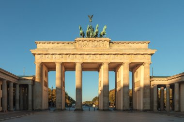Brandenburg gate of Berlin