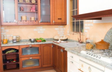 Rustical or country style kitchen