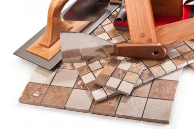 Decorative tiles for kitchen and bathroom
