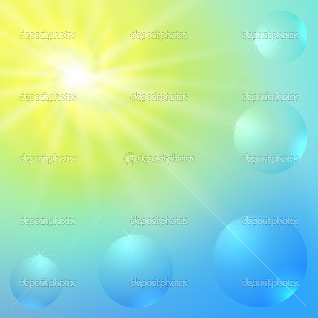 Abstract Sunny Vector Background