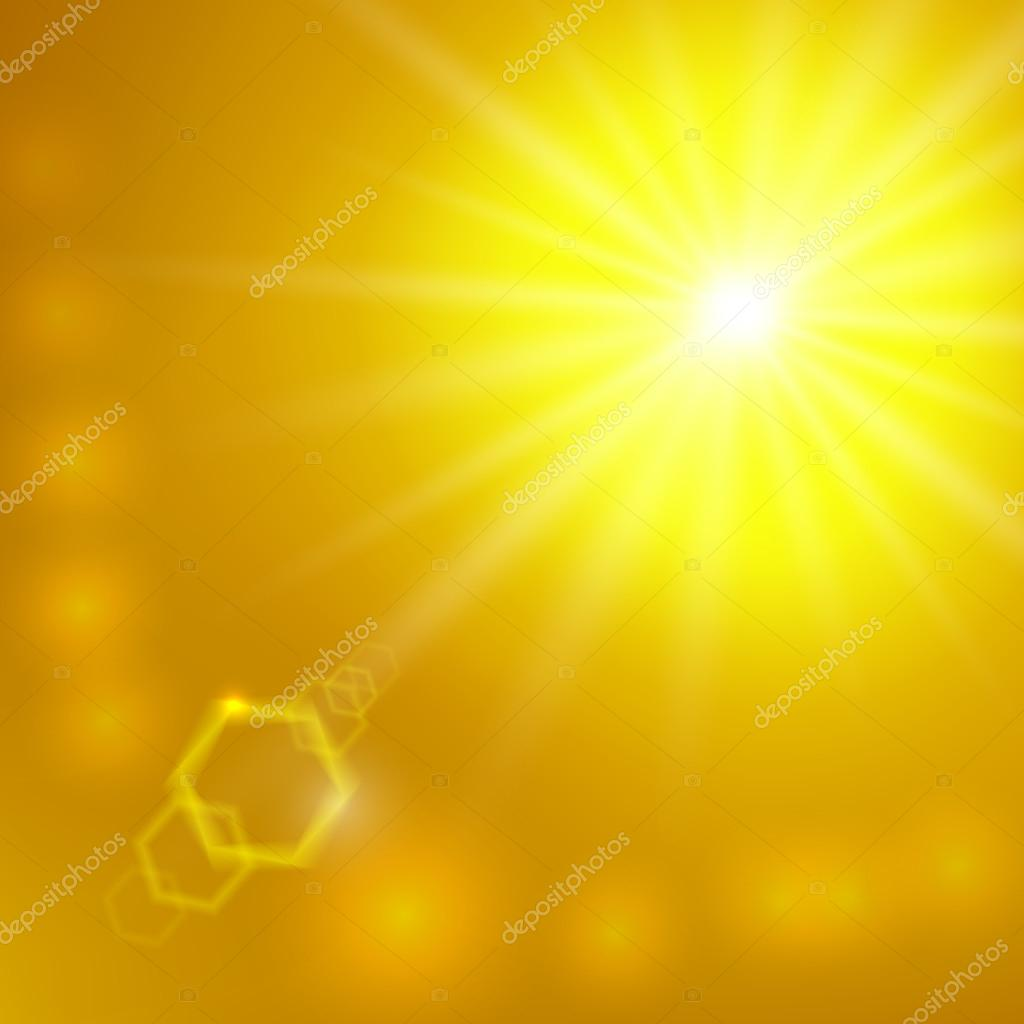 Vector abstract sunlight background