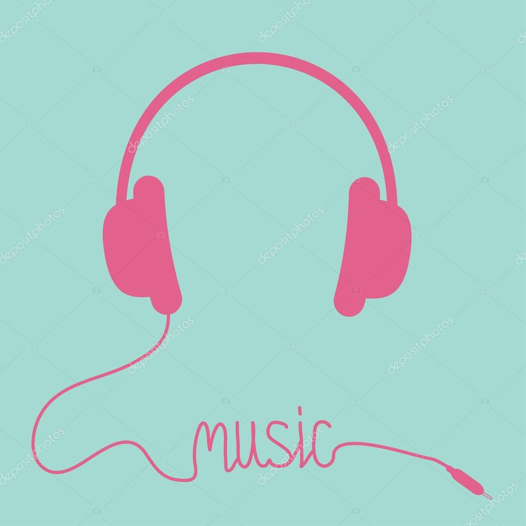 Discos para el 2019 Depositphotos_34893473-stock-illustration-pink-headphones-with-cord-in