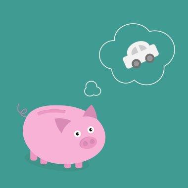 Piggy bank dream about the car