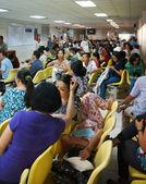 kranken Patienten warten im Krankenhaus