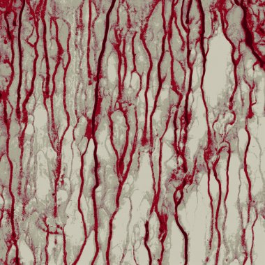 Abstract vector grunge bloody background, no effects, no blends, no gradients
