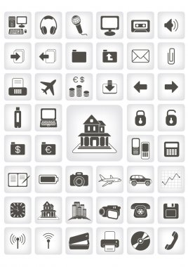 Icons for web applications