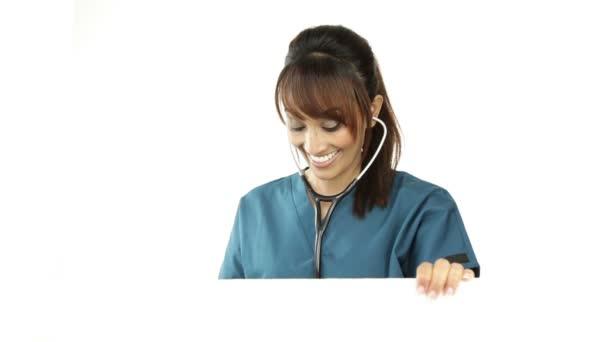 sestra se stetoskopem