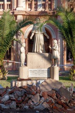 Statue of Mother Bernarda Morin