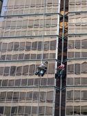 Fotografie Fenster-Scheiben-Reinigung Gebäude